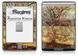 Vincent Van Gogh Apricot Trees In Blossom2 - Decal Style Skin (fits 4th Gen Kindle with 6inch display and no keyboard)