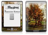 Vincent Van Gogh Autumn Landscape With Four Trees - Decal Style Skin (fits 4th Gen Kindle with 6inch display and no keyboard)