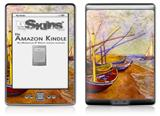 Vincent Van Gogh Boats Of Saintes-Maries - Decal Style Skin (fits 4th Gen Kindle with 6inch display and no keyboard)