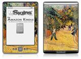 Vincent Van Gogh Entrance To The Public Park In Arles - Decal Style Skin (fits 4th Gen Kindle with 6inch display and no keyboard)