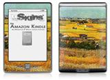 Vincent Van Gogh Harvest At La Crau With Montmajour In The Background - Decal Style Skin (fits 4th Gen Kindle with 6inch display and no keyboard)