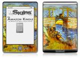 Vincent Van Gogh Langlois - Decal Style Skin (fits 4th Gen Kindle with 6inch display and no keyboard)