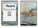 Vincent Van Gogh Orchard With Cypress - Decal Style Skin (fits 4th Gen Kindle with 6inch display and no keyboard)