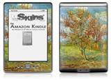 Vincent Van Gogh Pink Peach Tree In Blossom Reminiscence Of Mauve - Decal Style Skin (fits 4th Gen Kindle with 6inch display and no keyboard)