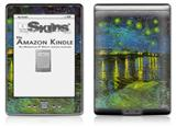 Vincent Van Gogh Rhone - Decal Style Skin (fits 4th Gen Kindle with 6inch display and no keyboard)