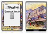 Vincent Van Gogh The Restaurant De La Siren In Asnières - Decal Style Skin (fits 4th Gen Kindle with 6inch display and no keyboard)